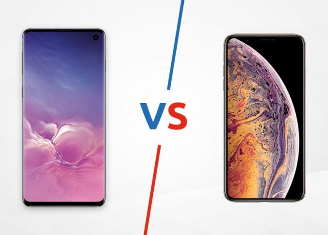 Samsung Galaxy S10 vs Apple iPhone