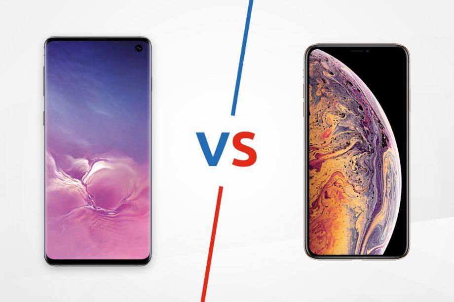 Samsung Galaxy S10 vs Apple iPhone